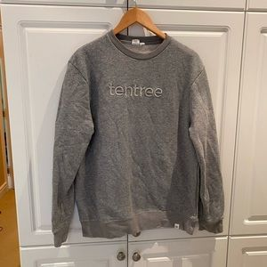 Tentree Gray Sweatshirt Size Medium